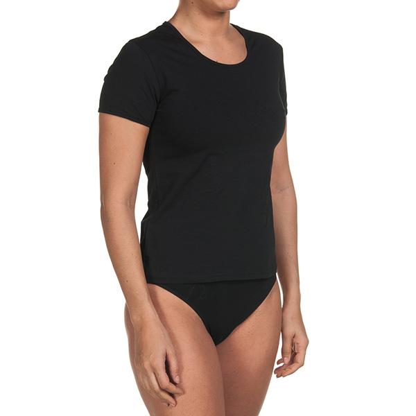 Pack 3 Camisetas m/corta interiores - negro