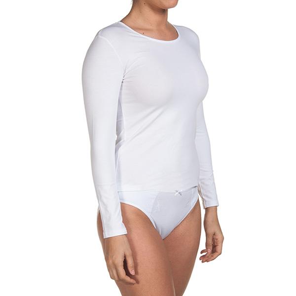 Pack 3 Camisetas m/larga interiores - blanco
