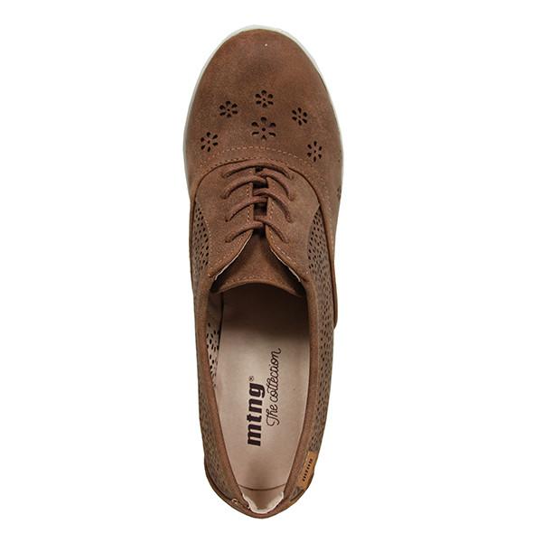 7cm Zapato tacón mujer - bronce