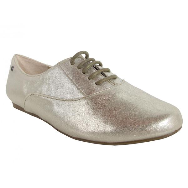 Zapato plano mujer - plateado