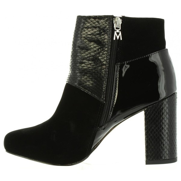 Zapato de tacón mujer - negro