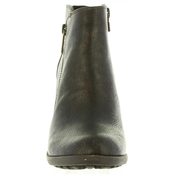 8cm Botín tacón mujer - marrón