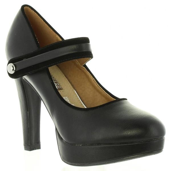 10cm Zapato de tacón mujer - negro