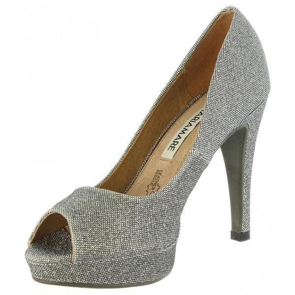 11cm Zapato de tacón mujer - plata