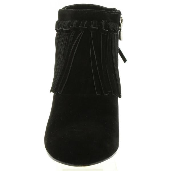 7cm Botín tacón mujer - negro