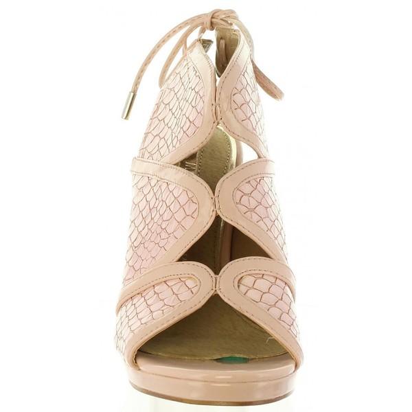 11cm Zapato de tacón mujer - beige