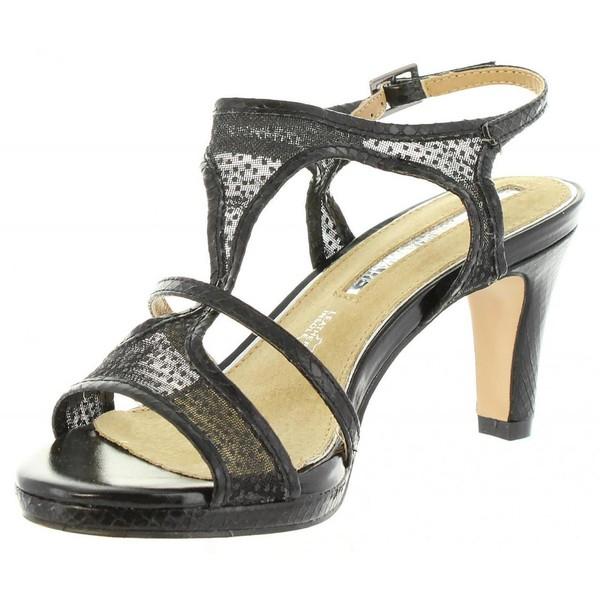 8cm Zapato de tacón mujer - negro