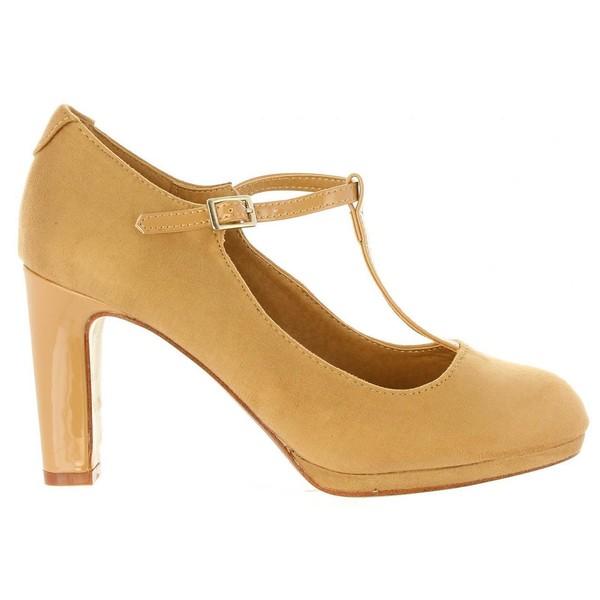 9cm Zapato de tacón mujer - beige