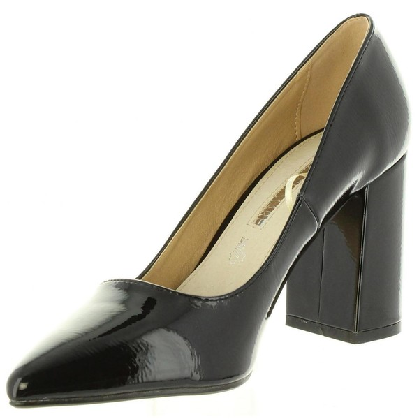 9cm Zapato tacón mujer - negro