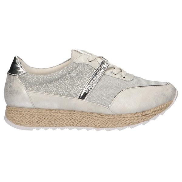 Sneaker mujer - plateado