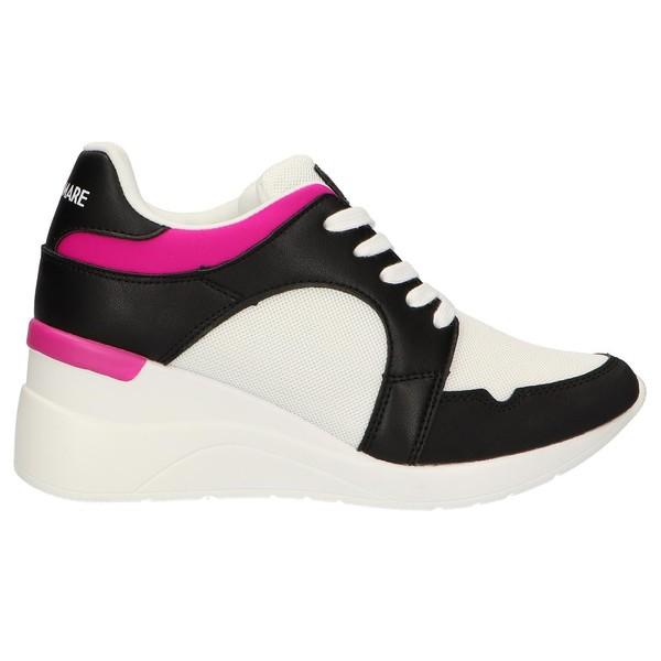 6cm Sneaker cuña mujer - multicolor