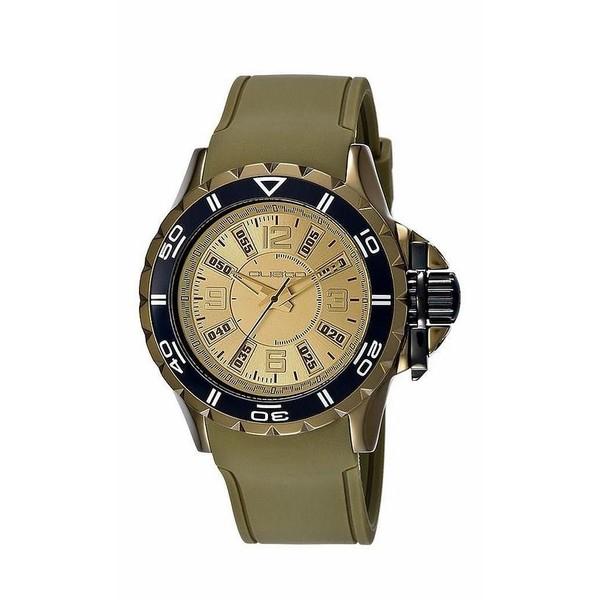 Reloj analógico hombre - verde