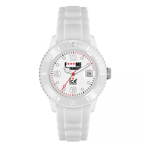 Reloj analógico caucho unisex - blanco