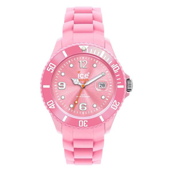 Reloj analógico caucho mujer - rosa