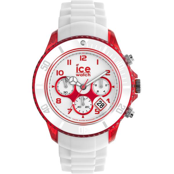 Reloj analógico caucho hombre - blanco