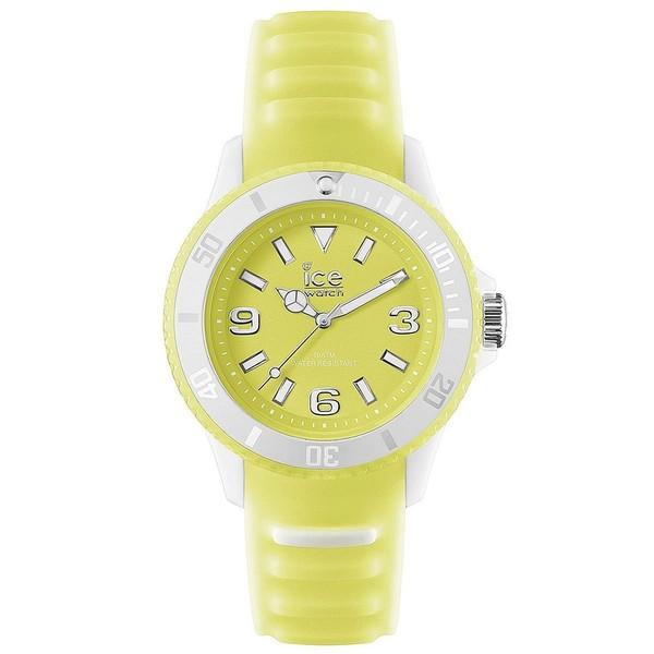 Reloj analógico caucho hombre - amarillo