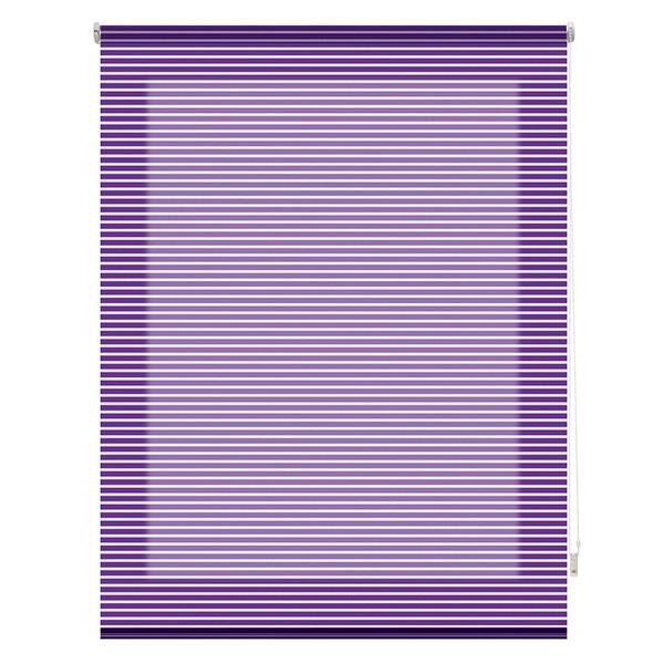 Estor enrollable Iris - violeta