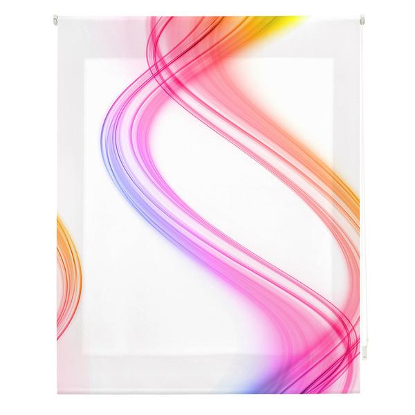 Estor enrollable digital - multicolor