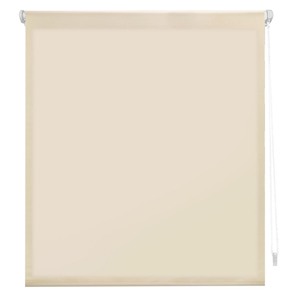 Estor enrollable traslúcido easyfix - beige