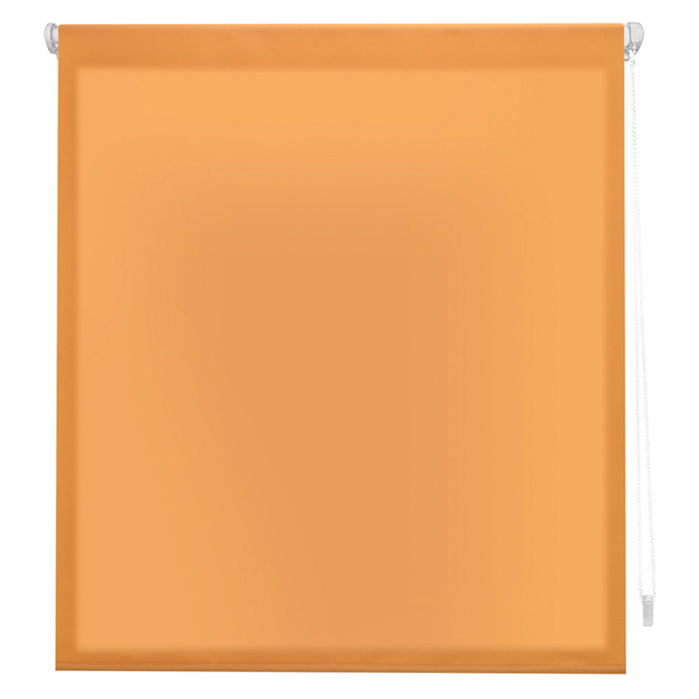Estor enrollable traslúcido easyfix - naranja