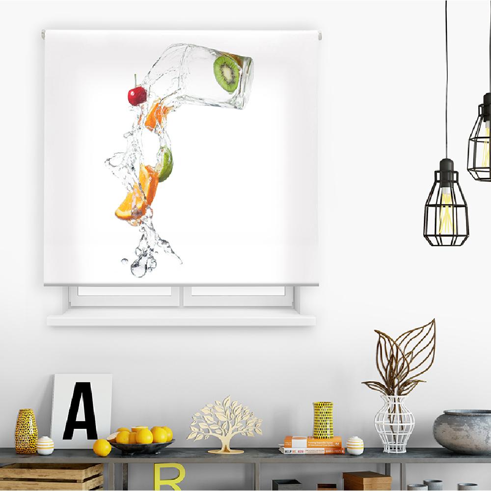 Estor digital cocina - multicolor