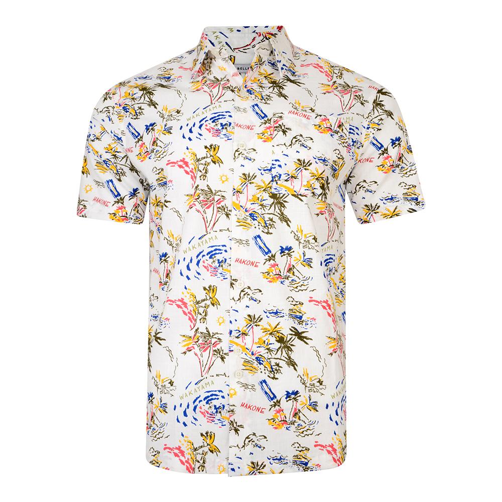 Camisa m/corta hombre - blanco