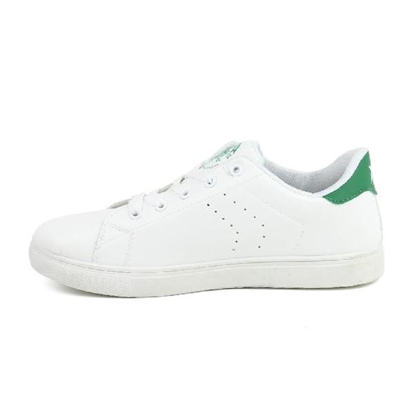Sneaker hombre - blanco/verde