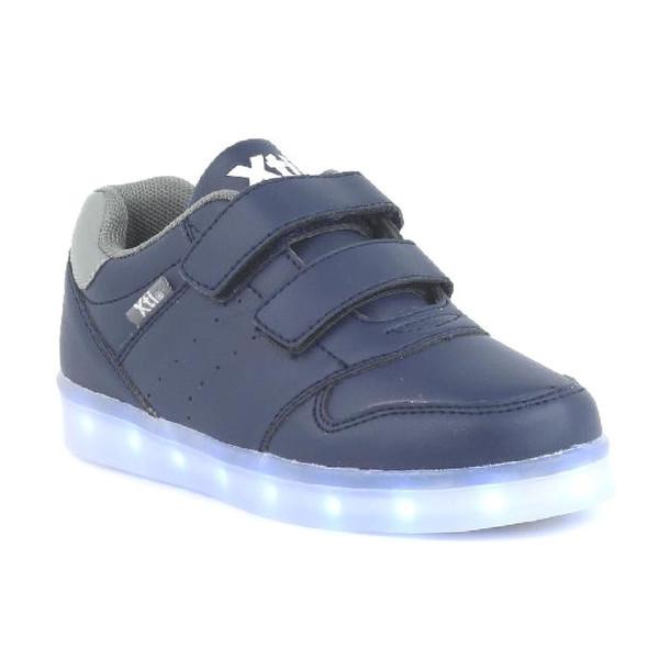 Deportiva con luces infantil - azul marino