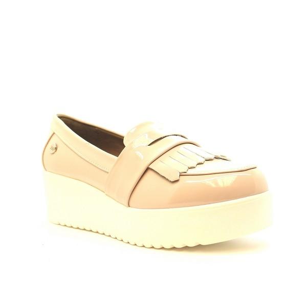 Zapato charol - nude