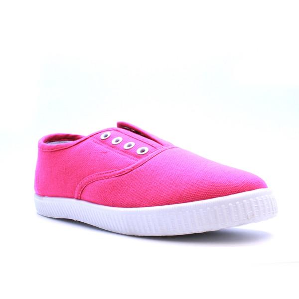 Deportiva de lona - rosa