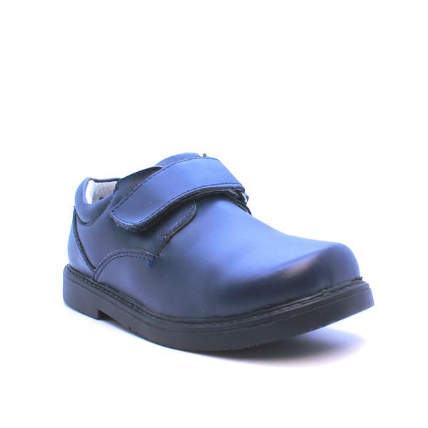 Zapato con velcro azul marino