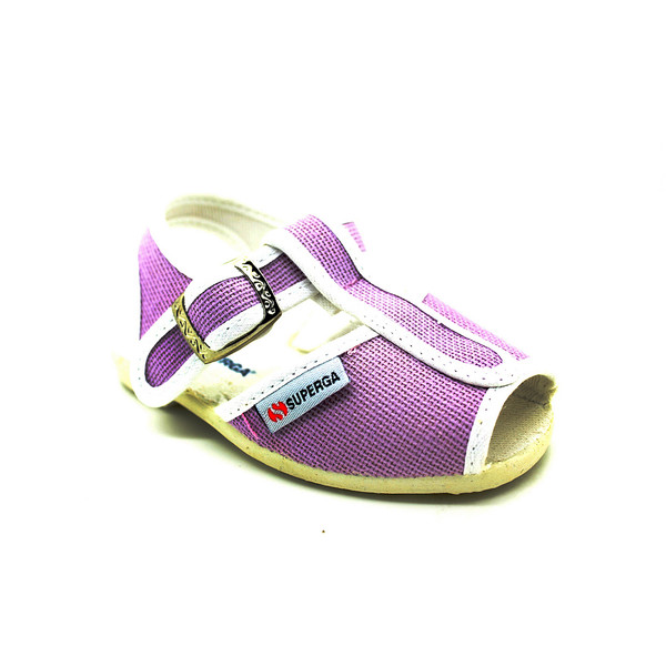 Sandalia plana infantil - violeta