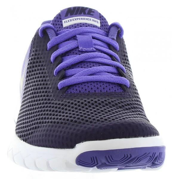 Sneaker mujer plana - morado