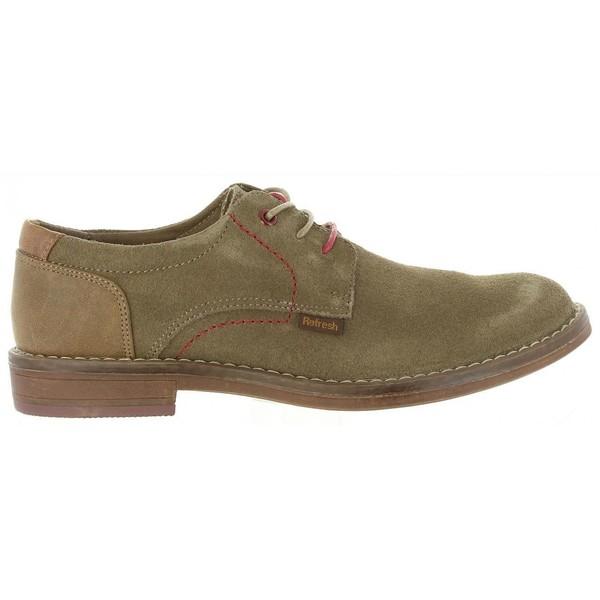 57f637a0cf Zapato hombre serraje - beige REFRESH 63954 SERRAJE TAUPE