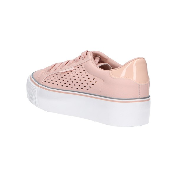 Sneaker plataforma mujer - nude