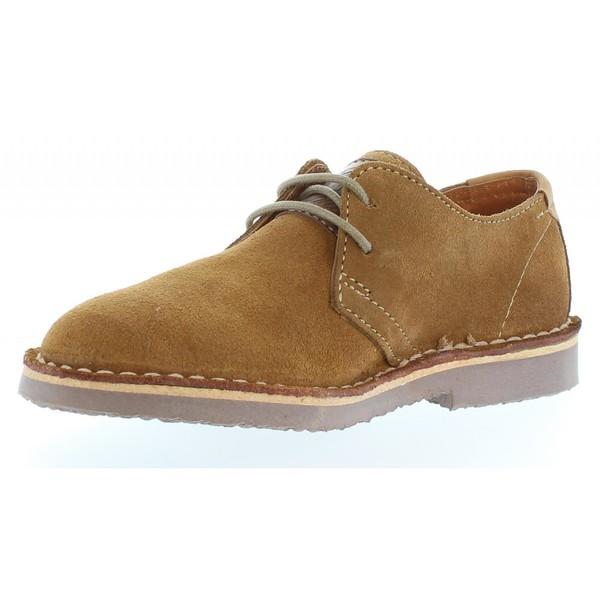 Zapato piel hombre - camel