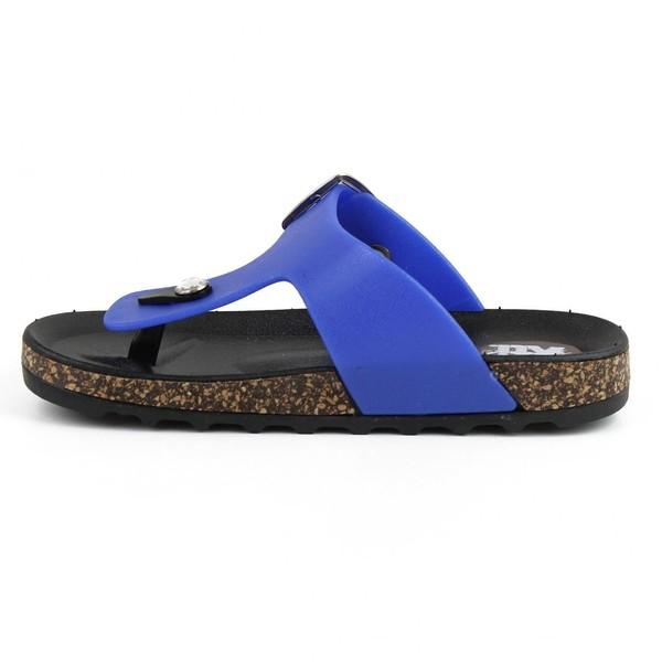 Sandalias planas infantil - marino
