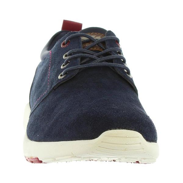 Sneaker hombre cordones - marino