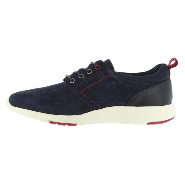 Sneaker piel hombre - marino