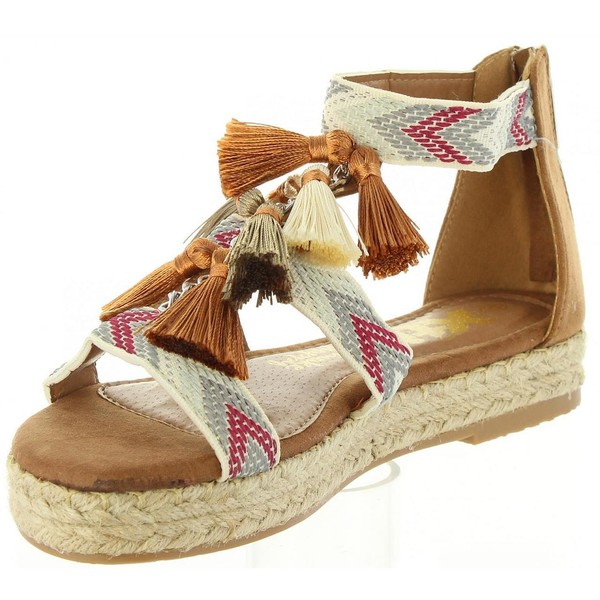 Sandalia mujer - camel