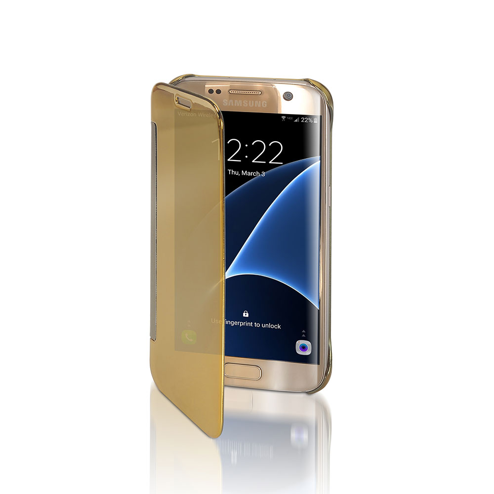Funda easy answer para galaxy s7 - dorado
