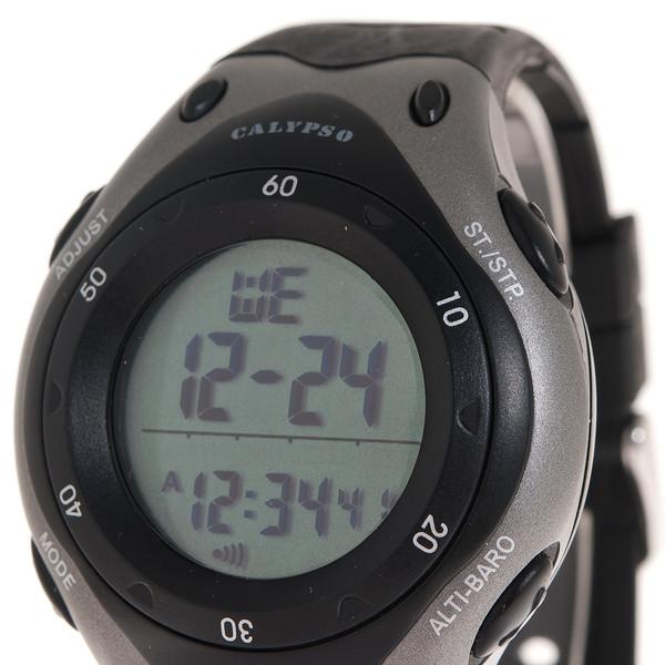 Reloj hombre digital caucho - negro