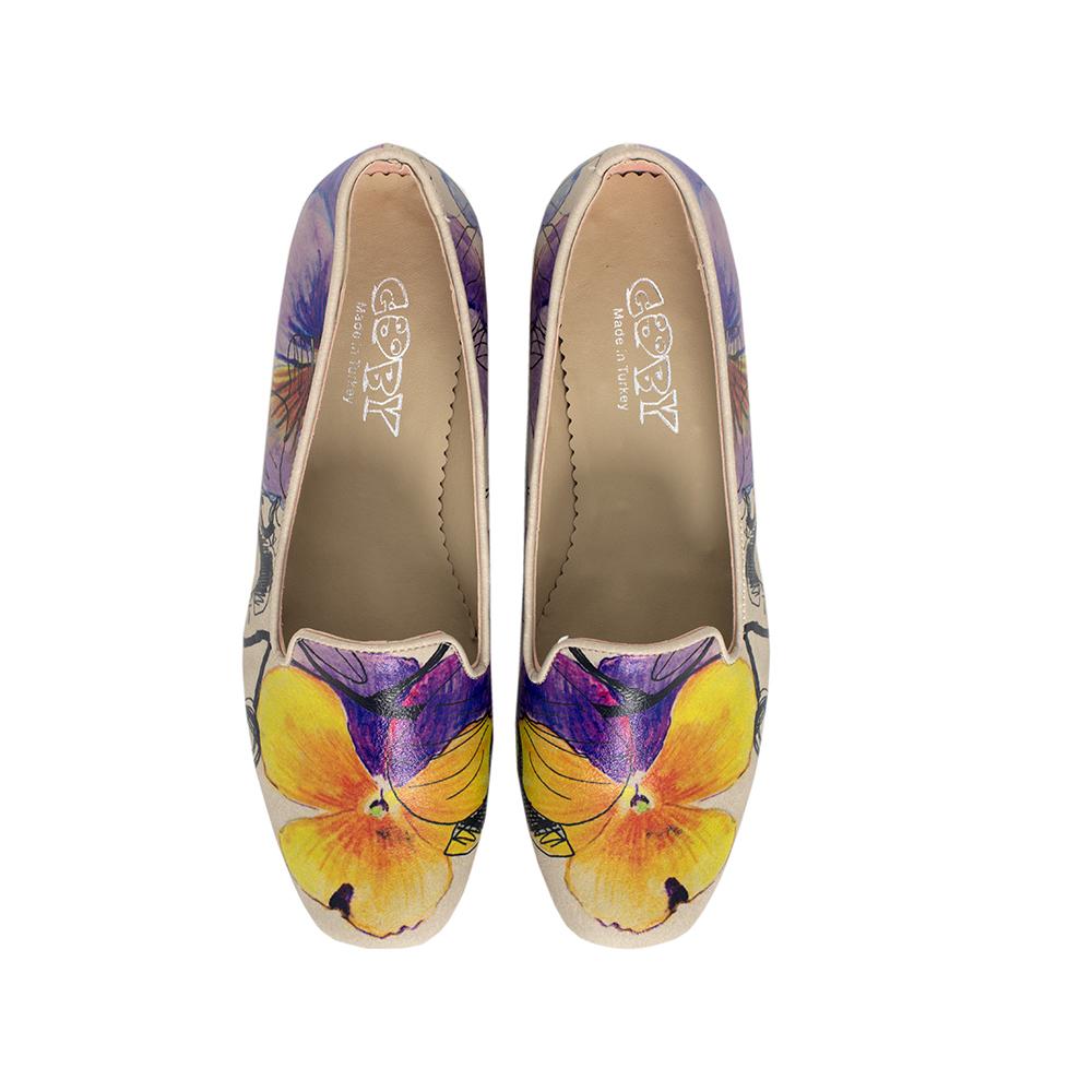 4cm Zapato tacón mujer - multicolor