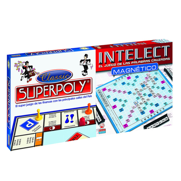 Juego Superpoly Intelect Magnetico Infantil 639007
