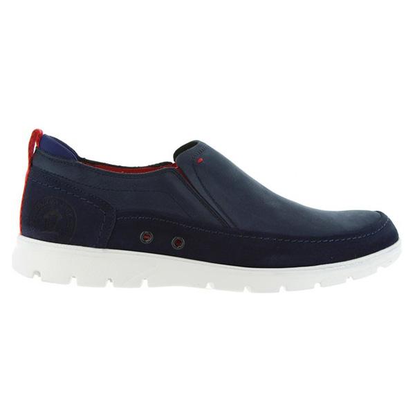 Sneaker hombre piel - marino