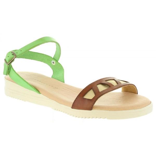Sandalia mujer - verde