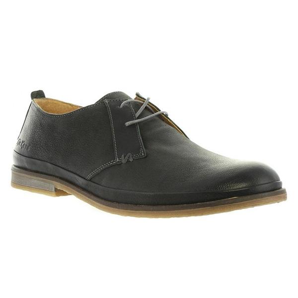 Zapato piel hombre - antracita