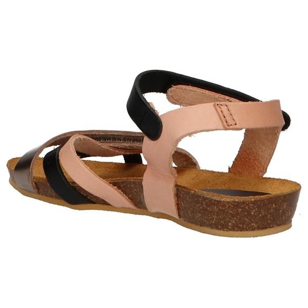 Sandalia piel niña - rosa