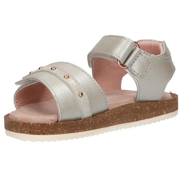 Sandalia infantil - plata