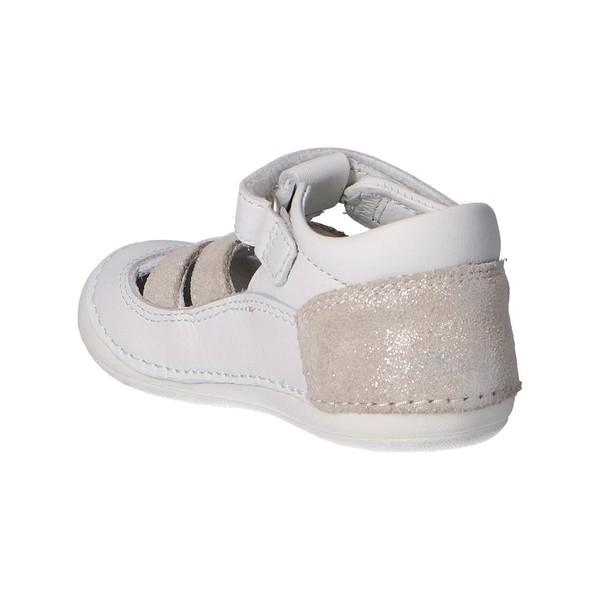 Zapato piel infantil - blanco
